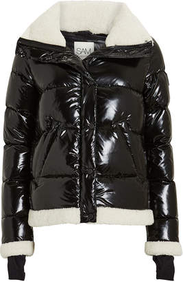 SAM. Willa Shearling-Trimmed Puffer Jacket