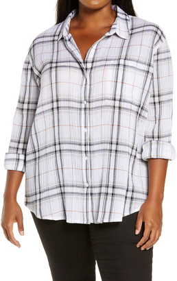 Treasure & Bond Plaid Shirt