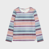 Paul Smith Girls' 2-6 Years Rainbow-Stripe 'Mayouna' Top