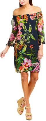 Trina Turk Amaris Silk Mini Dress