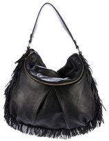 Botkier Leather Fringe Hobo