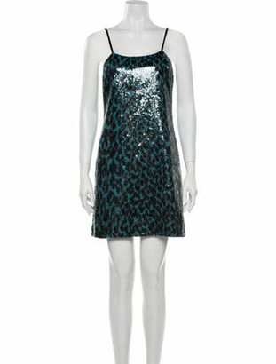Marc Jacobs Square Neckline Mini Dress w/ Tags Blue