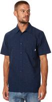 Vans Pilgrim Mens Ss Shirt Blue
