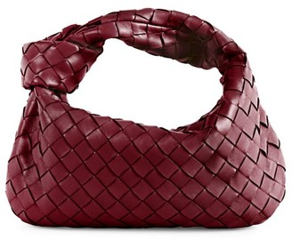 Bottega Veneta Mini Jodie Leather Hobo Bag