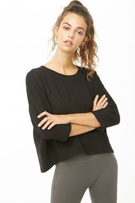 Forever 21 Active High-Low Dolman Top