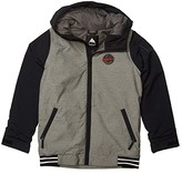 Burton Game Day Jacket (Little Kids/Big Kids) (True Black/Flame Scarlet) Boy's Coat