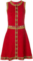 Dolce & Gabbana embroidered trim dress