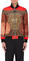 Givenchy Men's Money-Print Track Jacket-RED