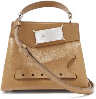 Maison Margiela Snatched Leather Bag - Camel