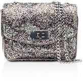 Zadig & Voltaire Skinny Love Glitter Snake Print Extra Small Leather Crossbody