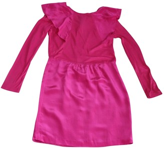 Erotokritos Pink Silk Dress for Women