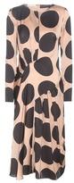 Stella McCartney Printed Silk Midi Dress