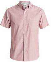 Quiksilver Men's Everyday Wilsden Short Sleeve Button Down Shirt