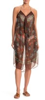 Pool' Pool To Party Floral Print Sheer Cover-Up