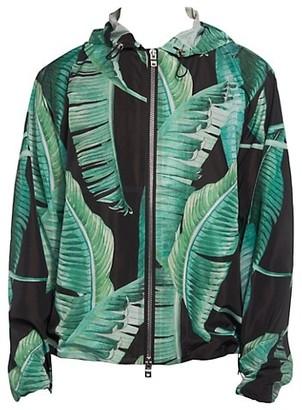 Amiri Banana Leaves Hooded Zip Jacket