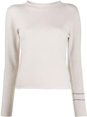 Fabiana Filippi cashmere long sleeve jumper