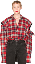 Vetements Flannel Shirt