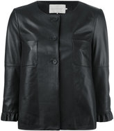 L'Autre Chose Rouches jacket - women - Sheep Skin/Shearling - 42
