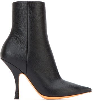 Y/Project Y / Project Pointed Toe Ankle Boots