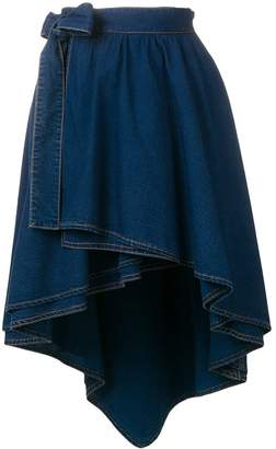 Sonia Rykiel high-low hem skirt