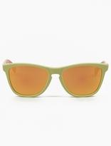 Oakley Aquatique Frogskins Fire Iridium Sunglasses