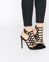 Asos PASSENGER Pointed Caged Heels