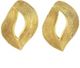 Oscar de la Renta Twisted Ribbon Earrings