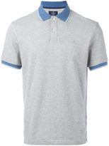 Hackett contrast collar polo shirt - men - Cotton/Spandex/Elastane - L