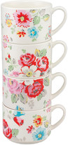 Cath Kidston Forest Bunch Stack Of 4 Mugs