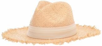 Michael Stars Women's Trilby Wide Brim Boater hat
