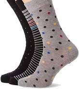 Ben Sherman Men's Galileo Socks,-Pack of 3