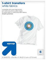 up & up Light T-shirt Transfers