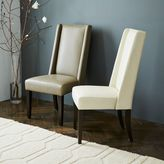 west elm Willoughby Leather Dining Chair