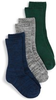 Boy's Tucker + Tate Twisted 3-Pack Crew Socks