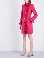 Gucci Ruffle-trim wool coat