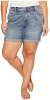 Lucky Brand Plus Size Georgia Roll Up Shorts Women's Shorts