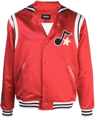 Just Don Embroidered Logo Bomber Jacket