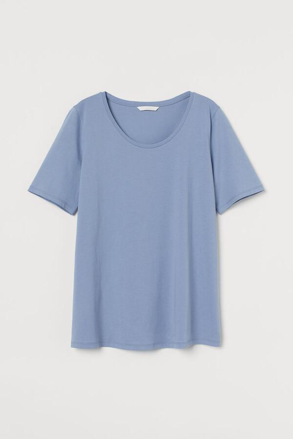 H&M - MAMA Cotton T-shirt - Blue
