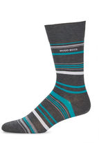 HUGO BOSS Striped Crew Socks