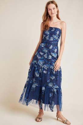 Shoshanna Silas Embroidered Maxi Dress