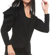 Norma Kamali Women's Wing Jacket - Black