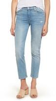 Hudson Women's Zoeey Crop Straight Leg Jeans