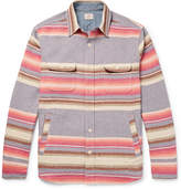 Faherty - Striped Brushed Cotton Shirt
