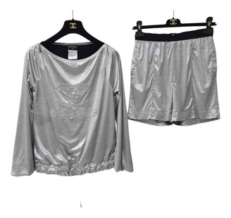 Chanel Silver Jumpsuit for Women