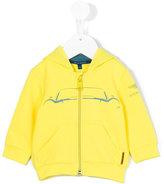 Aston Martin Kids - printed hoodie - kids - Cotton/Elastodiene - 6 mth