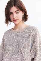 Silence & Noise Silence + Noise Fluffy Pullover Sweatshirt
