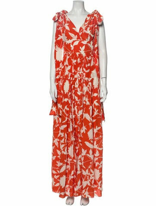 Oscar de la Renta 2020 Long Dress w/ Tags Orange