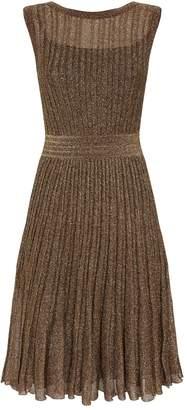 Missoni Metallic Mini Dress