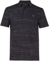 AllSaints Men's Stanley Short Sleeve Polo Shirt