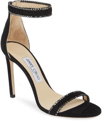 Jimmy Choo Dochas Embellished Strap Sandal